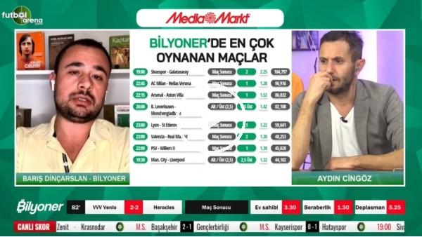 'Barış Dinçarslan, Sivasspor - Galatasaray maçı için tahminini yaptı