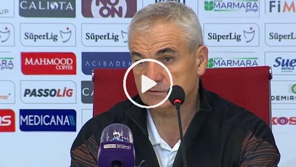 """'Rıza Çalımbay: """"Hakem korktu, penaltımızı vermedi"""""""