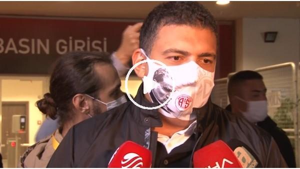 """'Ali Şafak Öztürk: """"Hakemleri daha bilinçli olması gerekyor"""""""