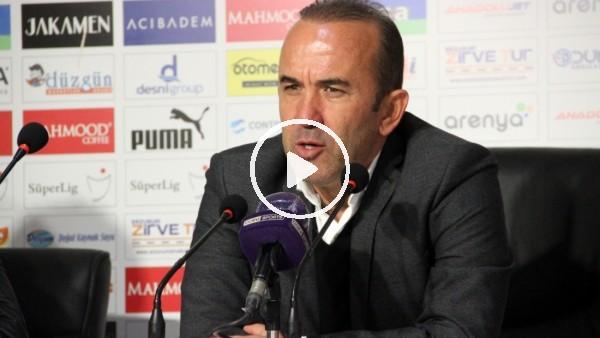 """'Mehmet Özdilek: """"İlk 45 dakikada maçın fişini çekebilirdik"""""""