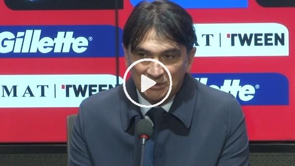"""Zlatko Dalic: """"3 gol yememizden dolayı memnun değilim"""""""