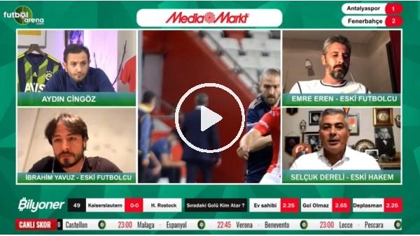 'Selçuk Dereli, Antalyaspor - Fenerbahçe maçındaki tartışmalı pozisyonları yorumladı