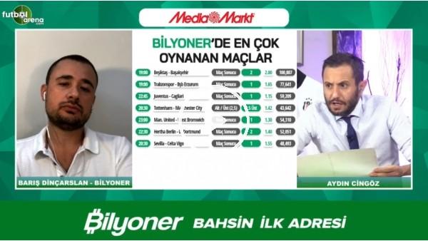 'Barıç Dinçarslan, Beşiktaş - Başakşehir maçı için tahminini yaptı