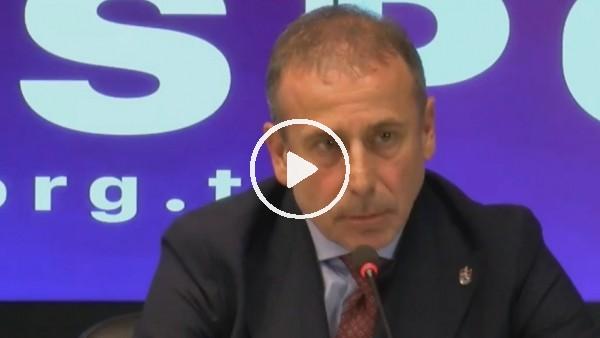 """'Abdullah Avcı: """"Trabzonspor yarışmak zorundadır"""""""