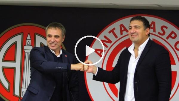 """'Ersun Yanal: """"Güçlü bir Antalyaspor yaratmak ne büyük hedefimiz"""""""