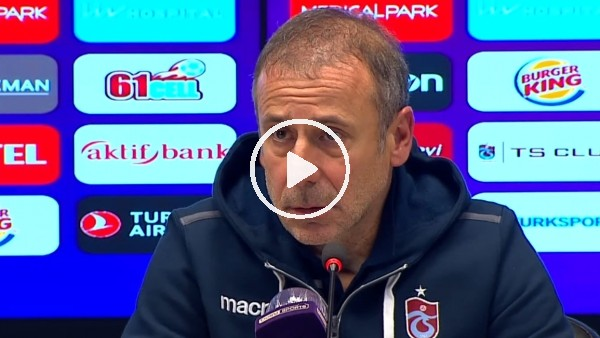 """'Abdullah Avcı: """"Geçiş dönemi için iyi bir galibiyet oldu"""""""
