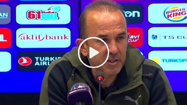 """'Mehmet Özdilek: """"Böyle oynayarak kaybetmek bizi üzdü"""""""
