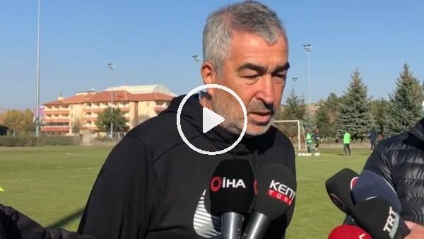"""'Samet Aybaba: """"İlk maçımızı Galatasaray'a karşı oynamak avantaj olabilir"""""""
