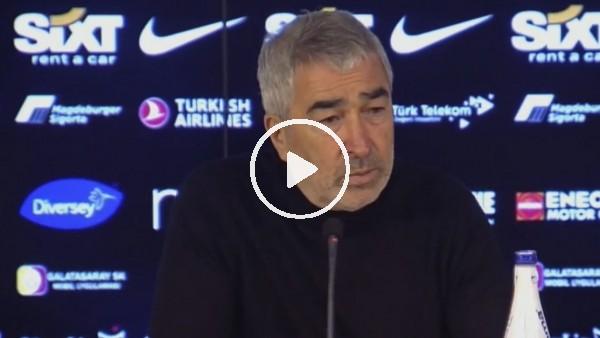 """'Samet Aybaba: """"Daha çok çalışacağız ve kazanan takım haline geleceğiz"""""""