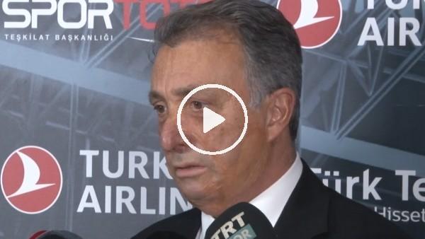 """'Ahemt Nur Çebi: """"Hataların olmadığı ve konuşulmadığı bir maç olmasını diliyorum"""""""