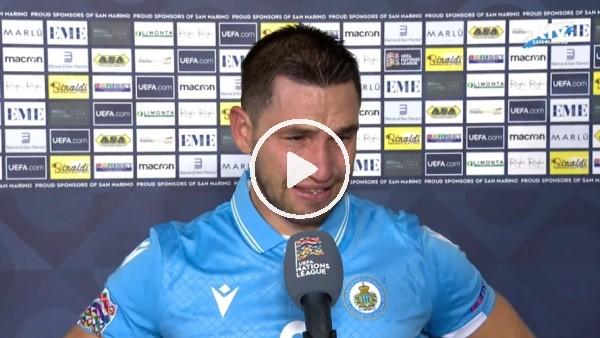 San Marino'lu Rossi'nin sevinç gözyaşları