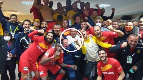 'Yeni Malatyaspor soyunma odasında büyük sevinç