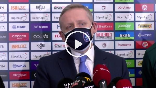 """Göksel Gümüşdağ: """"Biz duruşumuzu gösterdik şimdi sıra UEFA'da"""""""