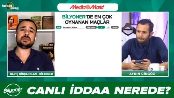'Barış Dinçarslan, Ankaragücü - Beşiktaş maçı için tahmini yaptı