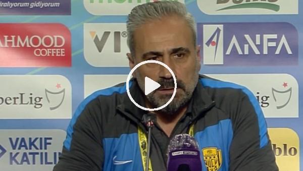 """'Mustafa Dalcı: """"Berabere bitse bile üzüleceğimiz bir maçtı"""""""