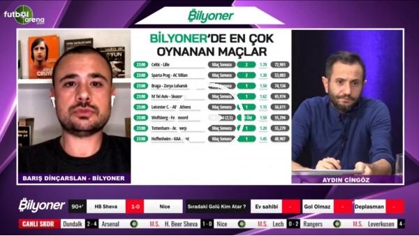 Barış Dinçarslan, Maccabi Tel Aviv - Sivasspor maçı için tahmini yaptı