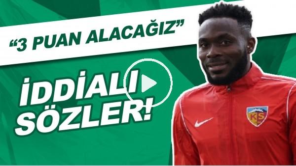 """Joseph Attamah'tan İddialı Sözler! """"Trabzonspor'dan 3 Puan Alacağız"""""""