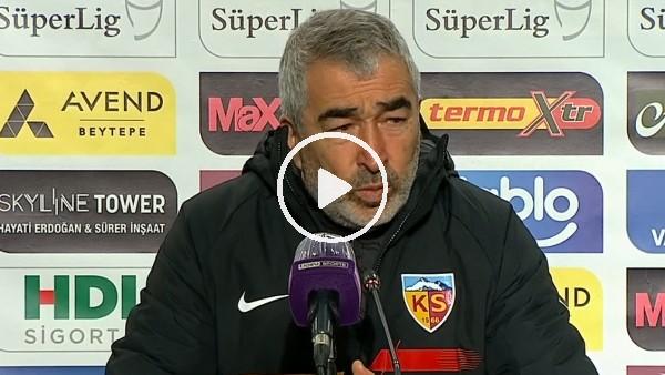 """'Samet Aybaba: """"Girdiğimiz pozisyonlar bir türlü gol olmuyor"""""""