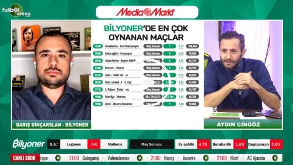 'Barış Dinçarslan, Fenerbahçe - Yeni Malatyaspor maçı için tahmini yaptı