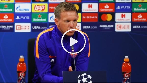 """'Julian Nagelsmann: """"Oyuncularım kendilerine inandı ve son dakika golüyle kazandık"""""""