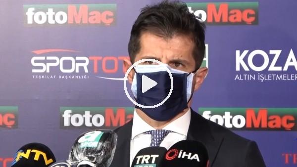 """'Emre Belözoğlu: """"Futbolda kazanmak da var, kaybetmek de"""""""
