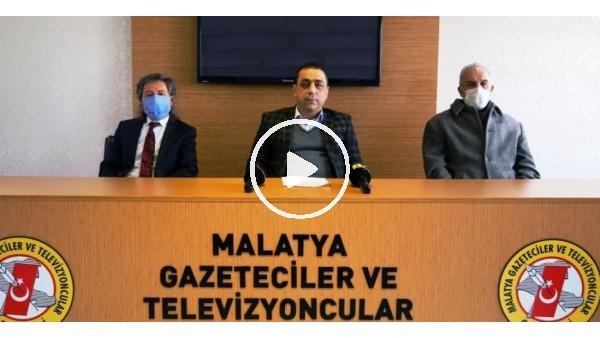 'Basın mensuplarından Yeni Malatyaspor Başkanı Adil Gevrek'e sert tepki