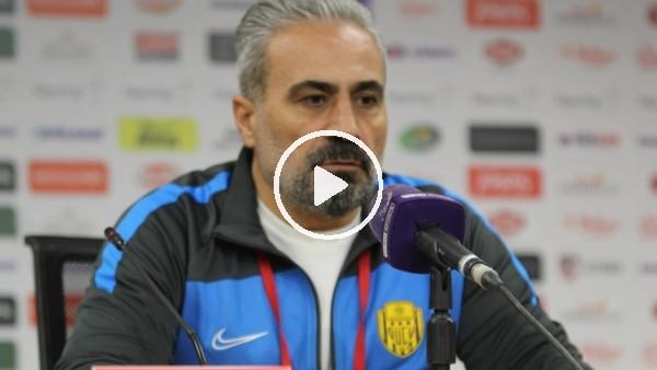 """'Mustafa Dalcı: """"İki takım için de dengeli bir maçtı ama hata yaparak kaybettik"""""""