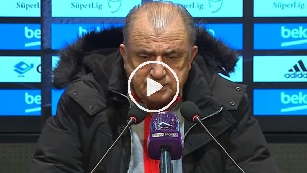 """'Fatih Terim: """"Diagne'nin kırmızı kartı doğru"""""""