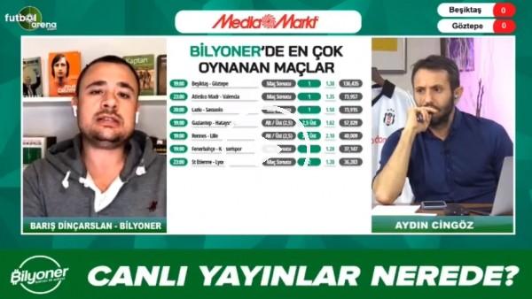 'Barış Dinçarslan, Beşiktaş - Göztepe maçı için tahminini yaptı