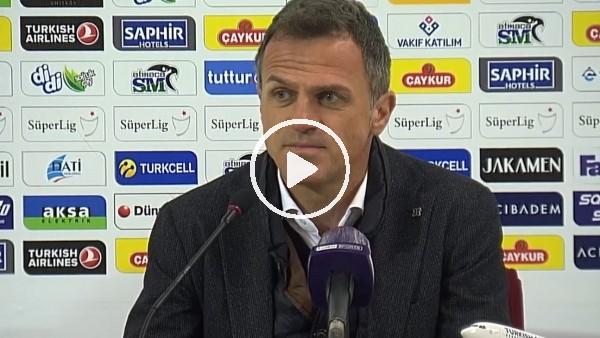 """'Stjepan Tomas: """"Çok pozisyona girdik maalesef atamadık"""""""