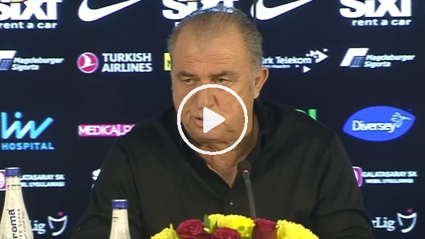 Fatih Terim'e basın toplantısında Mesut Özil sorusu