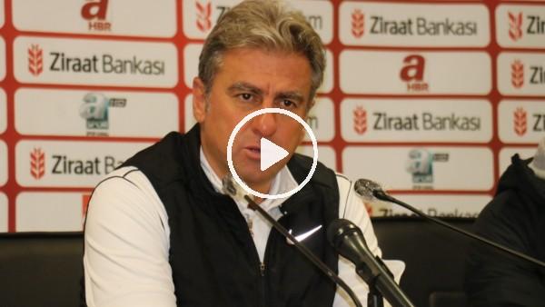 """'Hamza Hamzaoğlu: """"Futbolda bazen kazandık derken, kaybedebiliyorsunuz"""""""