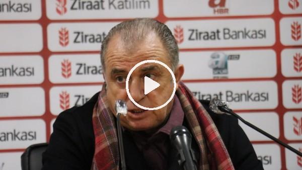 'Fatih Terim'den Beşiktaş derbisi sözleri