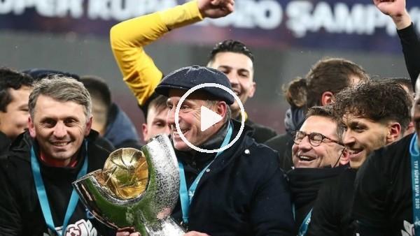 """'Abdullah Avcı: """"Kupayı Trabzon şehrine, Trabzonspor taraftarına armağan ediyoruz"""""""