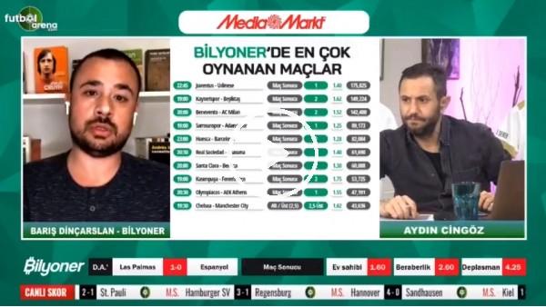 'Barış Dinçarslan, Kayserispor - Beşiktaş maçı için tahmini yaptı