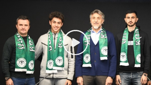 'İsmail Kartal'ın oğlu Konyaspor'a transfer oldu