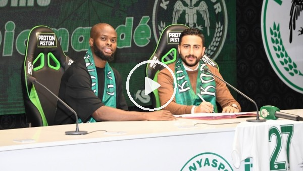 'Konyaspor, Ismael Diomande'yi kadrosuna kattı