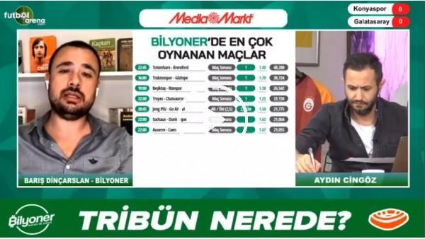'Barış Dinçarslan, Konyaspor - Galatasaray maçı için tahmini yaptı