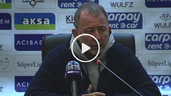 """'Sergen Yalçın: """"İlk yarıyı Göztepe maçıyla iyi bitirmek istiyoruz"""""""