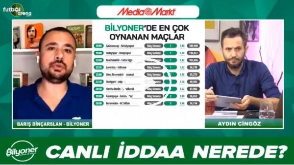 'Barış Dinçarslan, Galatasaray - Antalyaspor maçı için tahmini yaptı