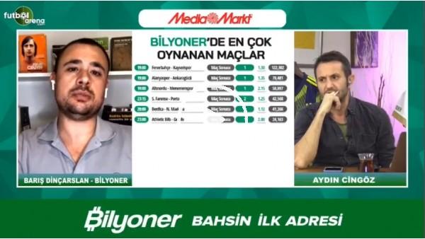 'Barış Dinçarslan, Fenerbahçe - Kayserispor maçı için tahminini yaptı