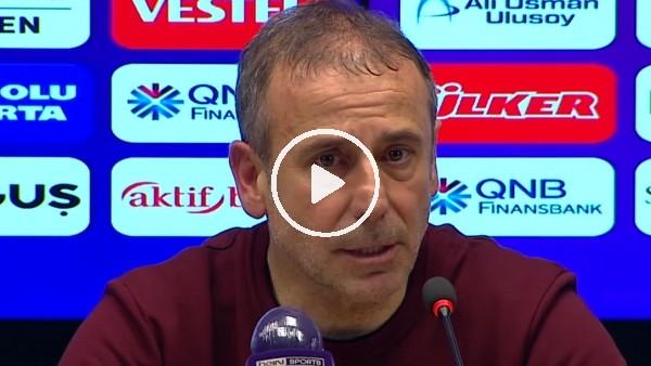 """'Abdullah Avcı: """"Futbolda olumlu ve olumsuz duyguları bir anda yaşıyorsunuz"""""""