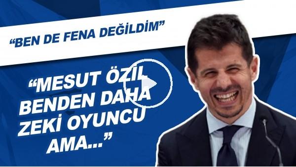 """'Emre Belözoğlu: """"Mesut Özil Benden Daha Zeki Oyuncu Ama Ben De Fena Değildim"""""""