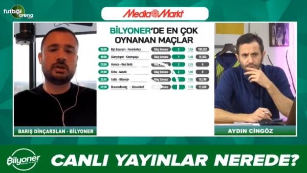 'Barış Dinçarslan, BB Erzurumspor - Fenerbahçe maçı için tahminini yaptı