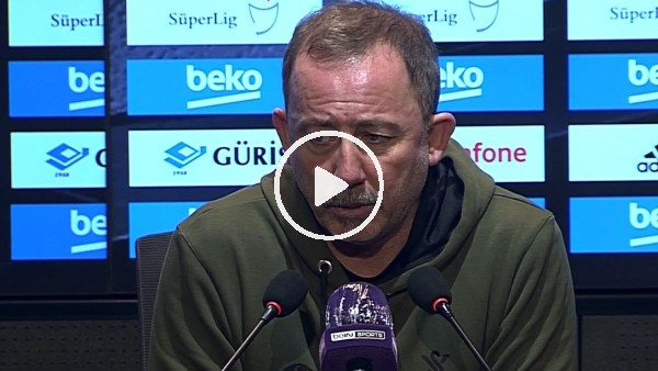 'Sergen Yalçın'dan forvet transferi açıklaması