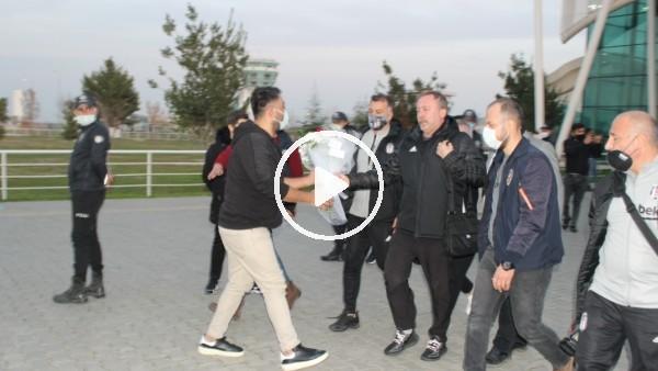 'Beşiktaş kafilesi Hatay'a geldi