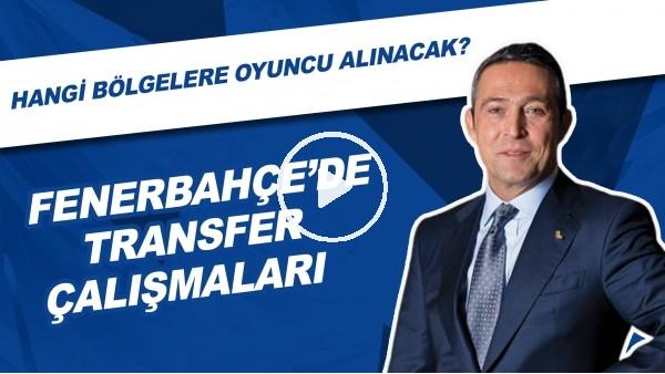 Fenerbahçe'de Transfer Çalışmaları   Hangi Bölgelere Oyuncu Alınacak?