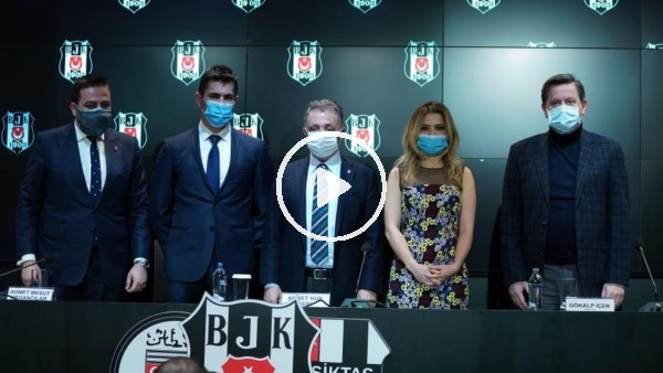 """'Ahmet Nur Çebi: """"Bu sponsorluk basketbol takımına çok büyük katkı verecek"""""""