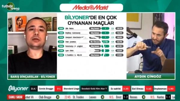 'Barış Dinçarslan, Beşiktaş - Galatasaray derbisi için tahmini yaptı