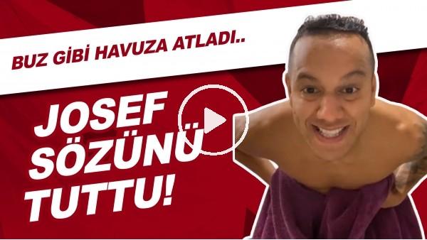 """'Josef: """"Sözünü Tutuyorum"""" Dedi Ve Galatasaray Derbisi Sonrası Buz Gibi Havuza Atladı"""